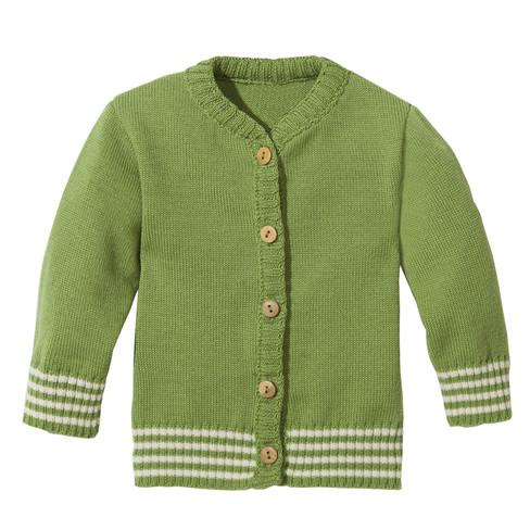 minibär Gebreid jasje, groen   Waschbär from Waschbär