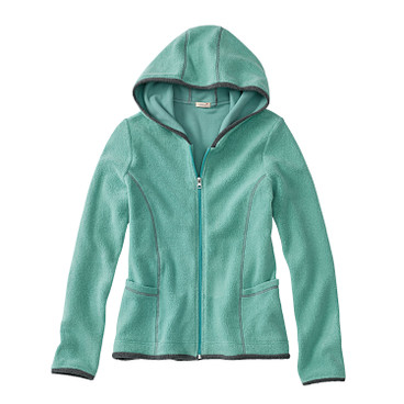 Fleece jas, jade