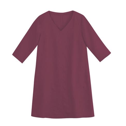 Linnen jurk, bes 42