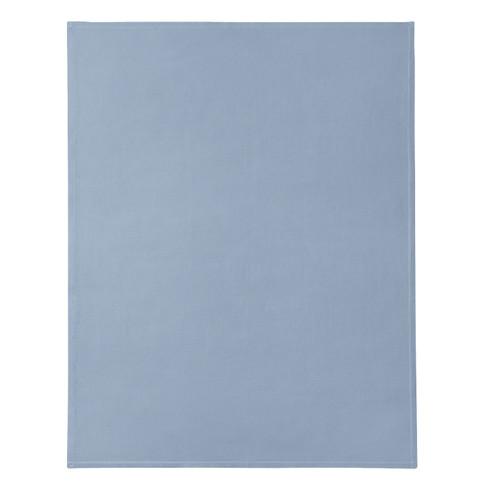Bio-wafelpiqu� woon-/slaapdeken, nachtblauw 150 x 200 cm