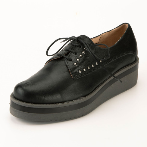 Lage schoen, zwart 37