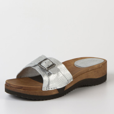 Clog-slipper, zilver