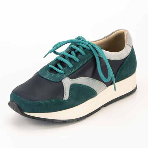 Sneaker, blauw/combi 38