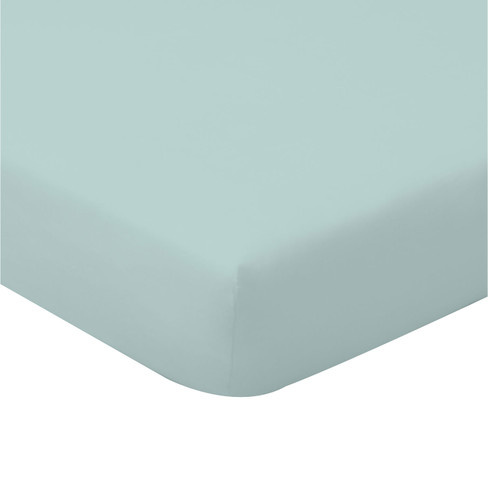 Biojersey hoeslaken, jade 100 x 200 cm