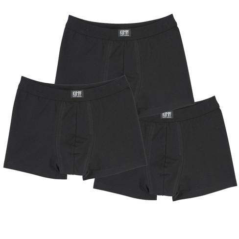 verpakking � 3 stuks boxershorts, zwart 7