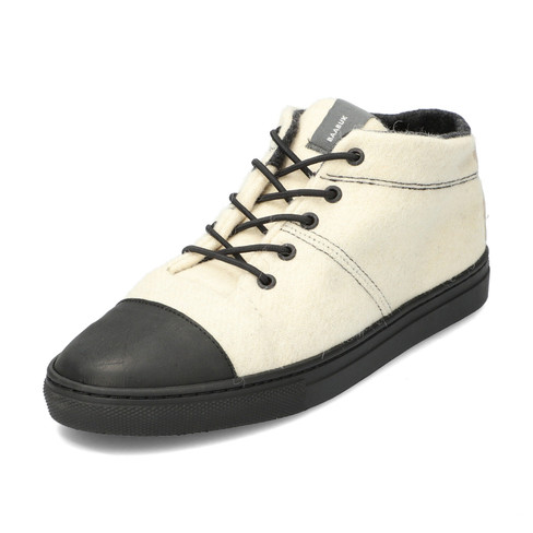 Wol-sneaker BLACK NOSE, offwhite 38