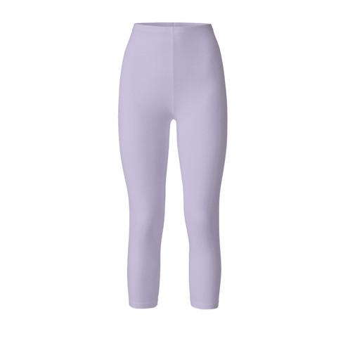 3/4-leggings uit bio katoen, lavendel 44
