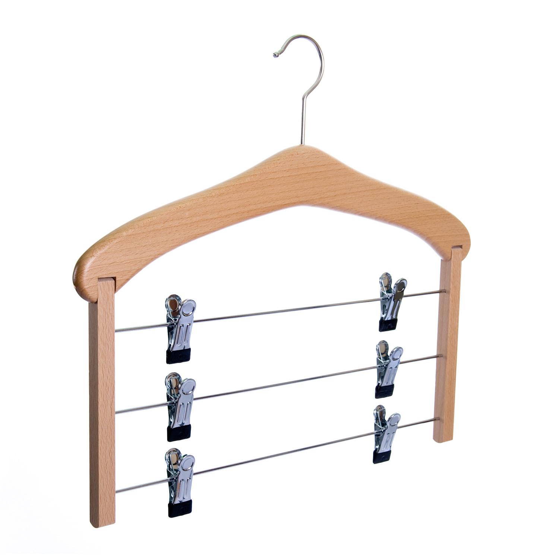 Hanger voor 3 rokken