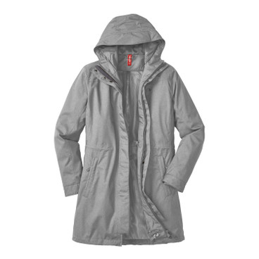 Functionele parka MITJA, silver star