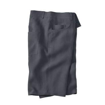 Linnen 5-pocket-short, leisteen
