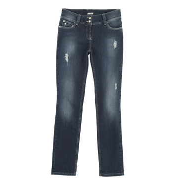 Smalle jeans, casual blue
