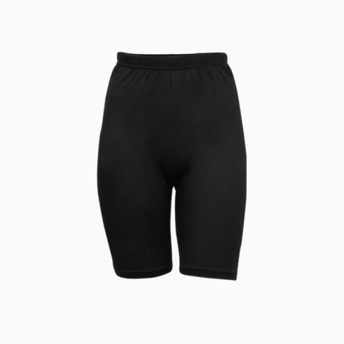 Zijden korte legging uit Organic Silk, zwart 36