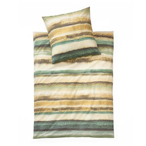 Beddengoedset van bio-renforcé, 2-dlg, multicolor 80 x 80 + 135 x 200 cm