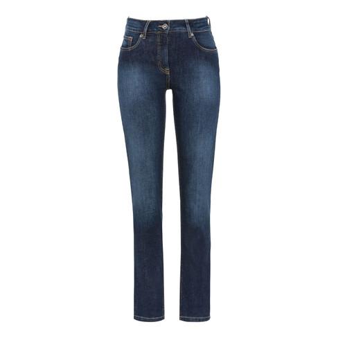 "Bio-Jeans ""Nauw"", donkerblauw 38/L30"