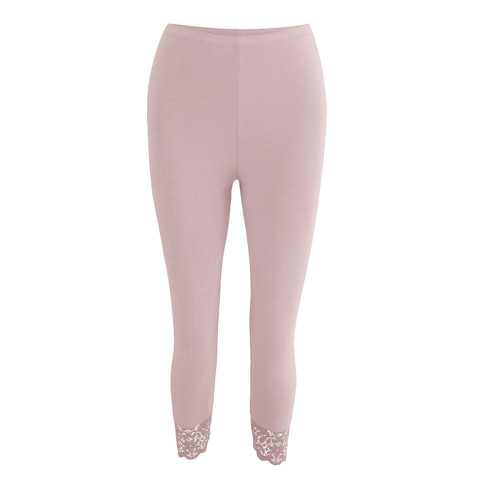 3/4-leggings, mauve 40