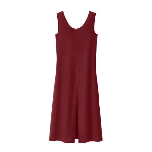 Vrouwelijke losvallende jurk in A-lijn, aardbei 46