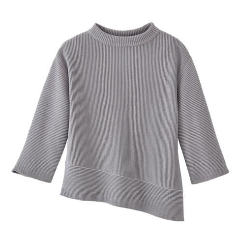 Pullover, zilvergrijs 36/38