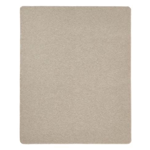 Scheerwollen deken, grijs 155 x 200 cm