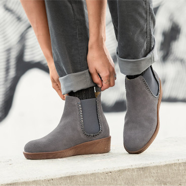 Chelseaboots, taupe