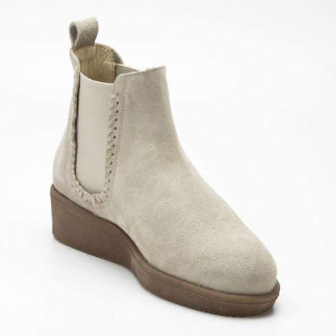 Chelseaboots, beige
