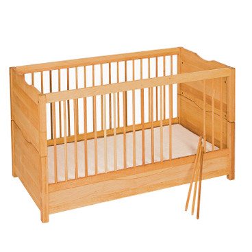 "Kinderbed ""Leon"", naturel"
