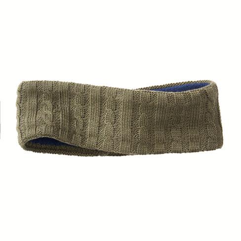 Gebreide hoofdband, dennen 52 cm (hoofdomvang)