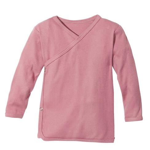 Babywikkelshirt, roze 74/80