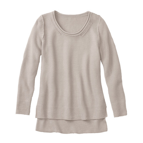 Pullover, steen 36/38