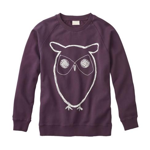 Sweatshirt, pruim L from Waschbär