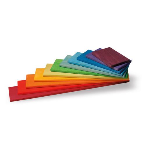 Regenboog bouwplaten