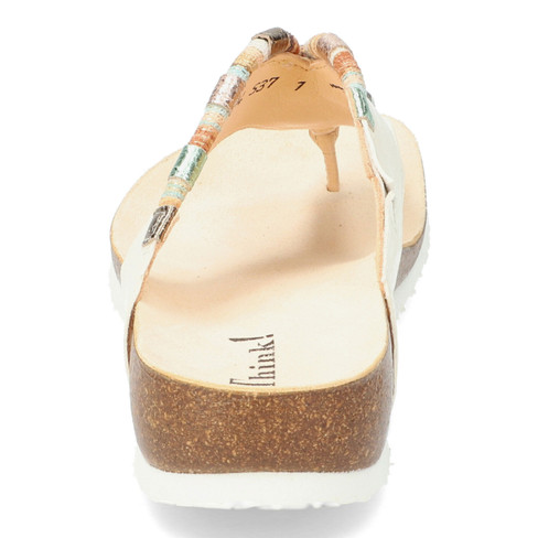 "Teenslippers ""Julia"", Wit"