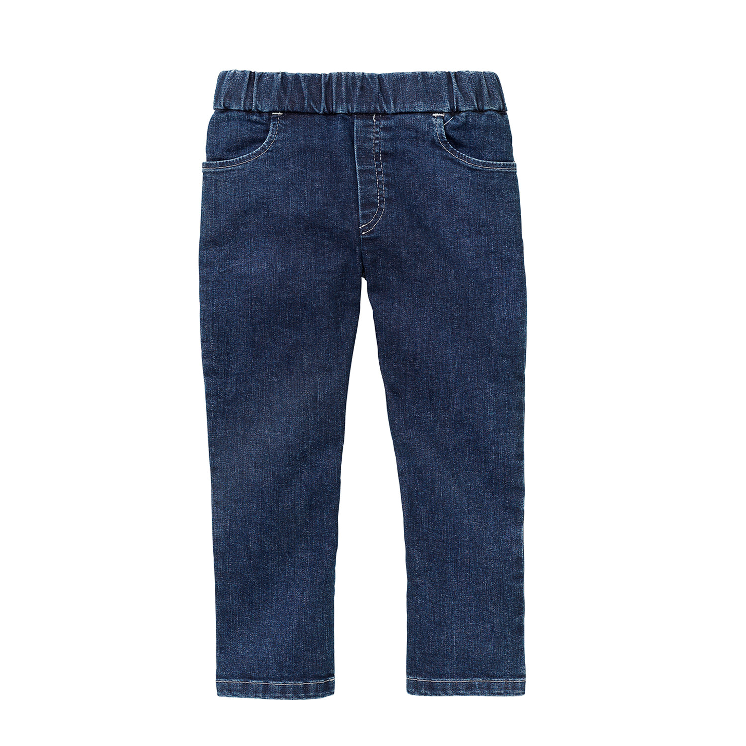 minibär DESIGN Kinderjeans in bio-katoen, denim-blue | Waschbär Eco-Shop from Waschbär