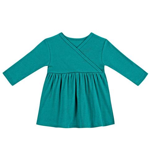 Babyjurk, smaragd 50/56