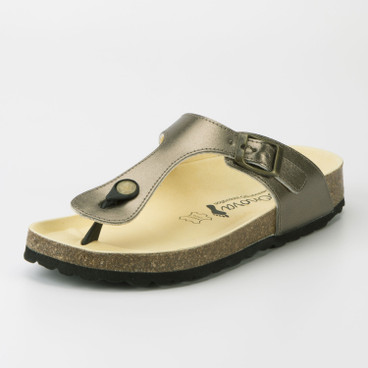 "Teenslipper ""Rees"", goud"