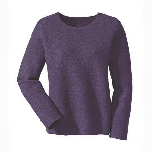 Walk pullover, plum 40 42