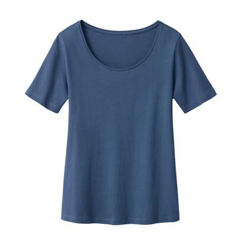 Shirt met korte mouwen, inkt 40/42
