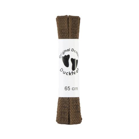Katoenen schoenveter, 65 cm, bruin 65