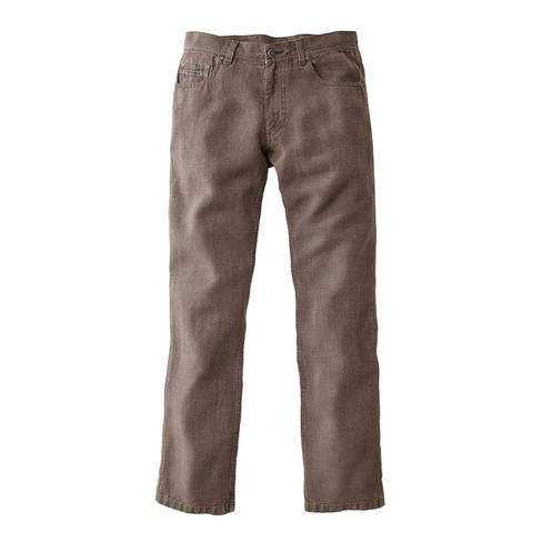 Jeans van hennepvezel, tabak 3234 from Waschbär