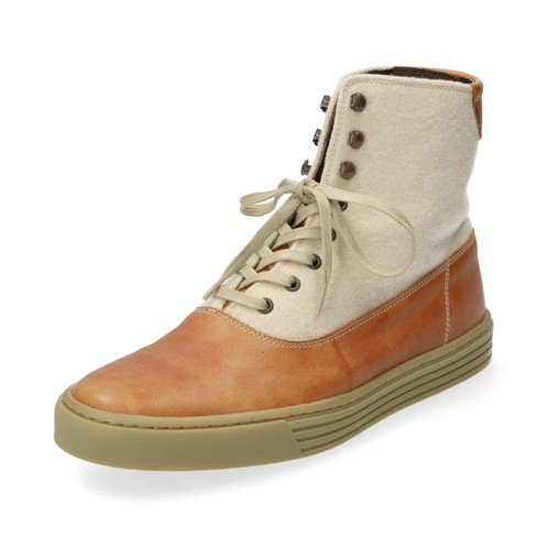 Veterboots Scott, cognac/naturel 46