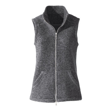 Walkstof gilet, antraciet