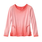 Sweatshirt 1/1-m., papaja