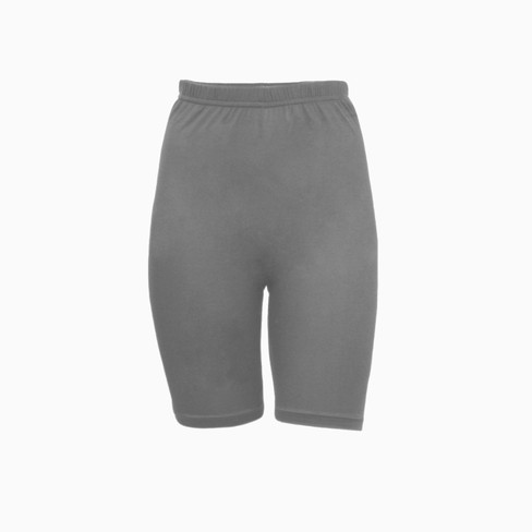 Zijden korte legging uit Organic Silk, platina 46