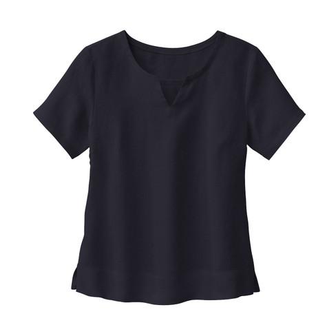 Linnen bloesshirt, leisteen 36