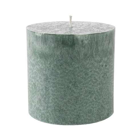 Blokkaars, groen � 7 x h 12 cm, 420 g. Brandduur ca. 63 uur