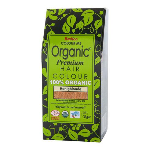 Radico Organic plantaardige haarkleuring 100 g, honingblond
