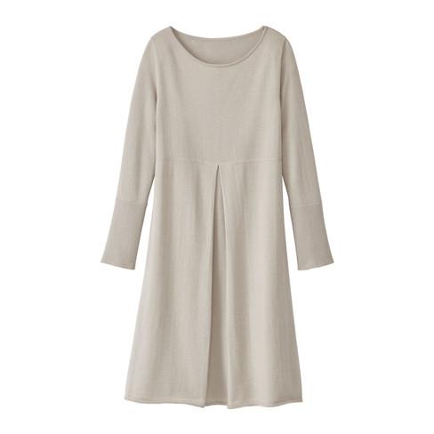 Gebreide jurk, modder 38