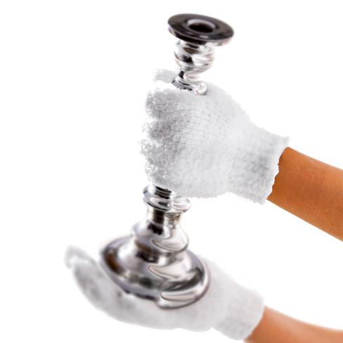 Stof-handschoen in microvezel
