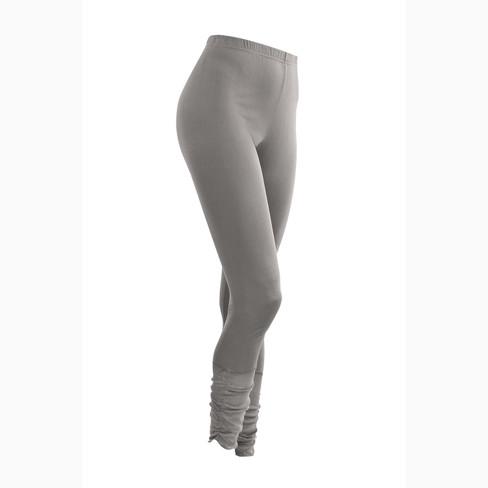 7/8-leggings van bio-zijde, platina 42
