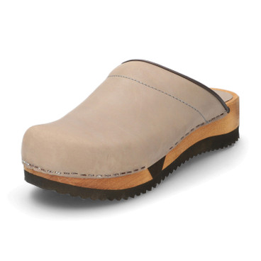 Clogs, taupe