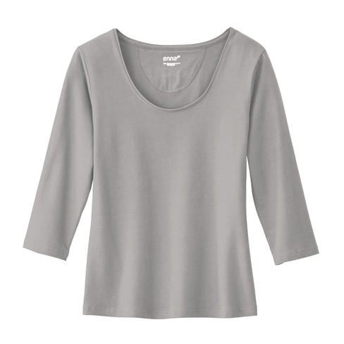 Shirt, zilvergrijs 34